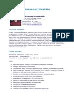 Mechanical Technician CV_Qutubuddin