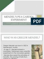 Mendel's Experiment GRP 5