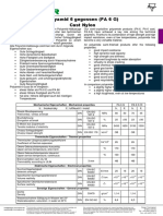 Materialeigenschaften Pa 6g