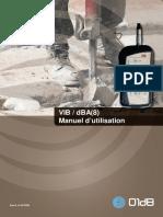 DOC1102 Juillet 2012 B - VIB DBA(8) Manuel Utilisation FR