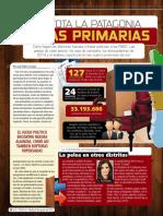 Que vota la Patagonia en las Primarias