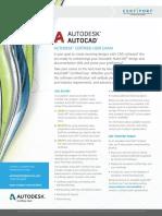 ACU AutoCAD Datasheet 093016RA
