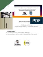 Programa del IV Encuentro Programa Voces. 10 y 11 de agosto en la UNRC