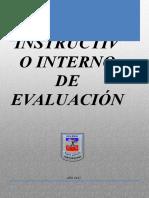 Reglamento de Evaluacion Revisado