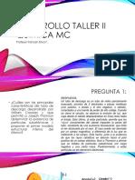 Desarrollo Taller II