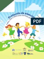 Protocolo de atención a niños, niñas y adolescentes huérfanos por feminicidio