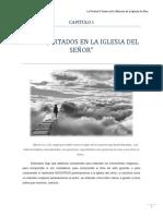 CAPITULO I - LOS INJERTADOS EN LA IGLESIA DEL SEÑOR