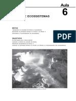Biomas e Sucessao Ecologica