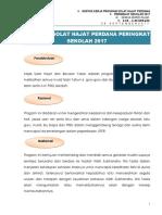 Kertas Kerja Majlis Solat Hajat Perdana 2017