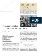 Concrete Construction Article PDF- Design Information for Concrete Arch System