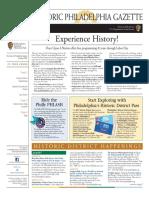 Historic Philadelphia Gazette - August 2017