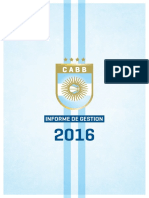 Informe de Gestión CABB 2016