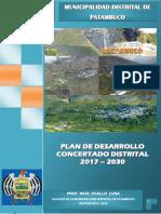 Pdc Patambuco 2016 - 2030 (Levantamiento Final)