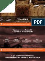 Fotômetro e Fotometria