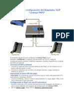 Manual de Configuración Del Adaptador VoIP linksys