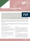 Posterior Fossa Syndrome Factsheet