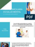Visita Domiciliaria en Salud Mental