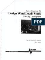 Nile City Design Wind Loads Study