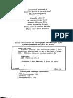 NETTO; BRAZ. Economia Política. Introdução, p. 25-36