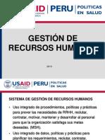 Gestión de Recursos Humanos. Conceptos 1