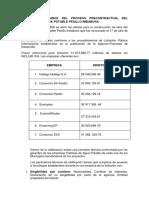Iinforme de Avance Proyecto Pesillo Imbabura