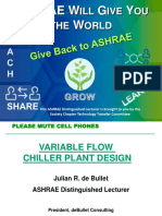 Ashrae Variable Flow Chiller Plant Design