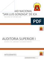 Trabajo de auditoria cuenta 18