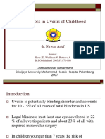 Visual Loss in Uveitis of Childhood