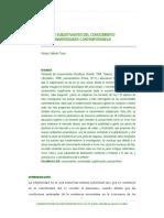 Efectos Subjetivantes Del Conocimiento en Las Universidades Contemporáneas