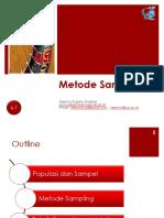 6a Metode Sampling