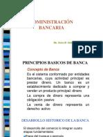 Administración Bancaria Sesiones 1 - 7