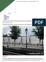 Control de Inundaciones Con Estructuras Mixtas de Acero, Aluminio y Hormigón _ Arquitectura en Acero