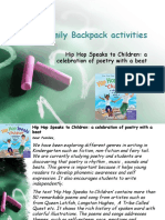 family backpack activity 5