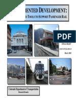 Rail Oriented Development