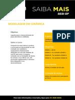 Modelagem em Cerâmica pdf final