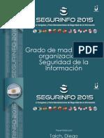 Grado de Madurez de La Organizacion en Seguridad de La Informacion