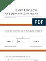 Potencia Em Circ CA Slide Nicacio