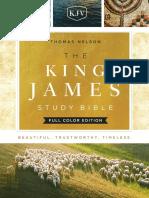 KJV Study Bible Full Color Edition Sampler