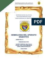 SEMIOLOGIA APARATO DIGESTIVO