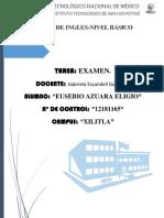Writing Presentation-Eusebio Azuara Eligio