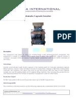 Automatic Capsule Loader