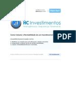 HC Investimentos - Como Calcular a Rentabilidade de um Investimento II.xls