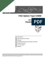 Lanier LD430c Fax