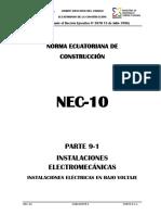 4. Inst. Electromecanicas de BT - Ecuador_NEC