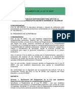 2.- REGLAMENTO DE LA LEY Nº 29337.pdf