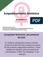 Apresentação empoderamento feminino