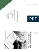 2. ORLANDI, Eni. Ciencias Da Linguagem e Politica. Pp. 1-27