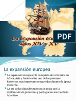 La Expansion Europea