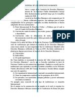 Declaración Universal de Los Derechos Humanos.evolución