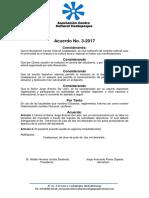 Acuerdo Carrera 2017